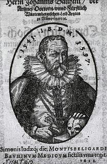 Johann Bauhin Swiss botanist