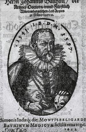Johann Bauhin cover