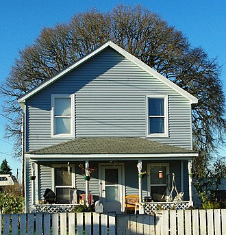 National Register of Historic Places listings in Yamhill County, Oregon - Image: Baxter House Dayton, Oregon