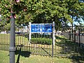 Bay Shore (New York) Memorial Park; Sign.JPG