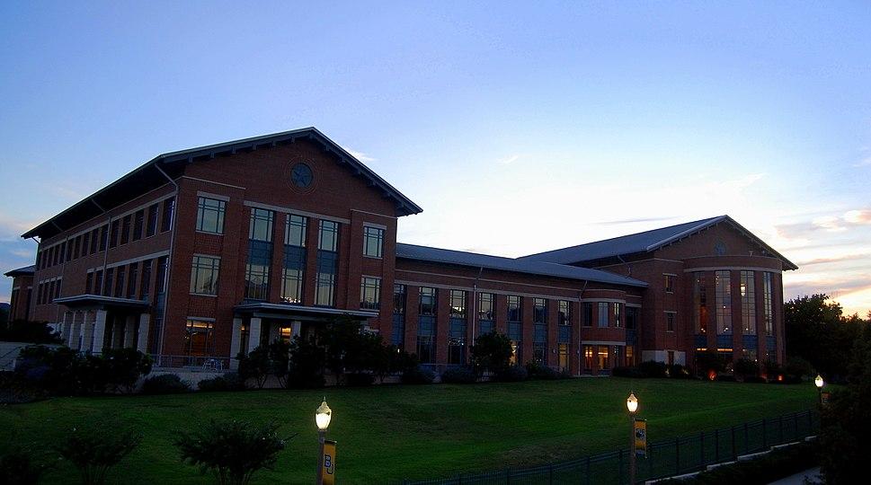 Baylor Law School at Dusk