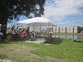 Bayou St John 4th of July 2013 Cabrini High Tent.JPG