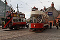 Beamish Open air Museum bus and tram.jpg