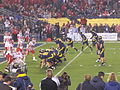 Bears attempt 2 pt conversion at 2009 Poinsettia Bowl.JPG