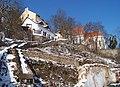 Bechyňské schody, klášterní kostel Nanebevzetí Panny Marie (01).jpg