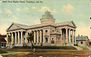Beech Street Baptist Church, Texarkana, Ark-Tex (1910-side view)