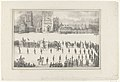 Begrafenis Baron des Tombe, Maastricht, 1845.jpg