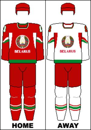 Belarus men's national ice hockey team