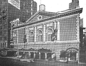 Belasco Theatre - Stuyvesant Theatre, 1907