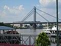 Belgrade, Serbia. New railway bridge (Novi železnički most) over the Sava river. - panoramio (2).jpg