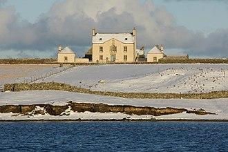 Belmont, Shetland - Image: Belmont House, Shetland