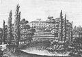 Belweder od strony Łazienek 1825.jpg