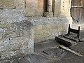 Bench Mark, Ketton church - geograph.org.uk - 1504995.jpg
