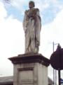 Benjamin Disraeli statue, Ormskirk - DSC09232.PNG