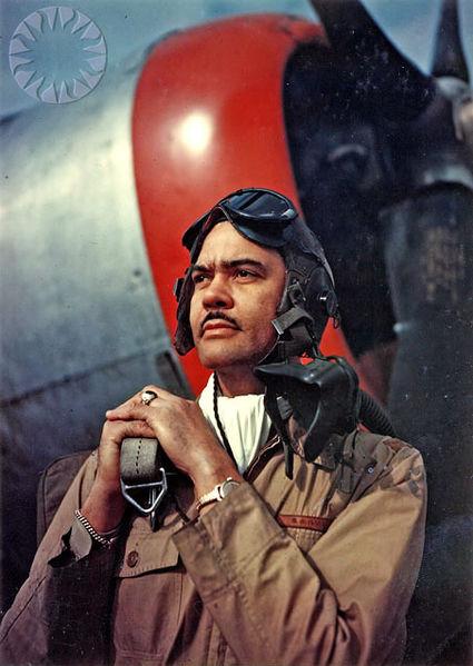 File:Benjamin O Davis Jr WWII.jpg