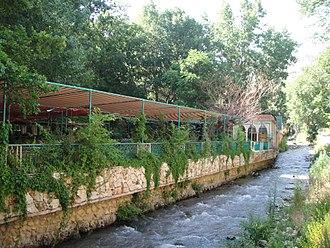 Zahlé - Cafes along the Berdawni River