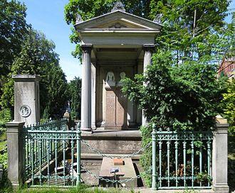 Karl Ferdinand von Gräfe - Gravesite of Karl Ferdinand von Gräfe at the Friedhof II der Jerusalems- und Neuen Kirche in Berlin