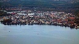 Flyfoto over Friedrichshaggen