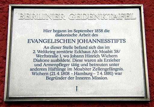 Berlin GTafel Johannesstift