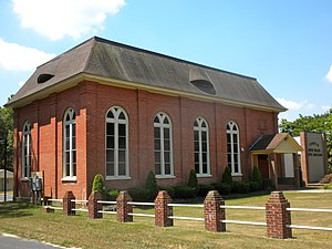 National Register of Historic Places listings in Cumberland County, New Jersey - Image: Beth Hillel Synagogue NJ