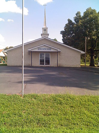 Bethel, McCurtain County, Oklahoma - Bethel Missionary Baptist Church on 7/21/2009.