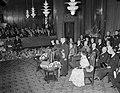 Bezoek Franse president en mevrouw Coty aan Amsterdam, ontvangst in stadhuis, Bestanddeelnr 906-6092.jpg