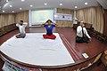Bhramari Pranayama - International Day of Yoga Celebration - NCSM - Kolkata 2017-06-21 2447.JPG