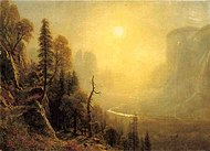 Bierstadt Albert Study for Yosemite Valley Glacier Point Trail.jpg