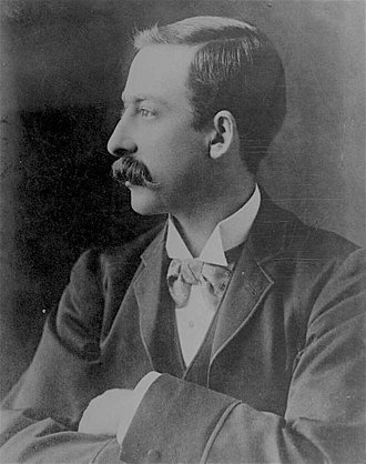 Billy Hughes - Hughes in 1895