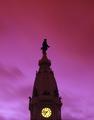 Billy Penn Statue on City Hall, Philadelphia, Pennsylvania LCCN2011630816.tif