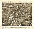 Bird's eye view of Great Falls, Strafford Co., New Hampshire & Berwick, York Co., Maine 1877. LOC 73693498.jpg