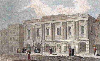 Government of Birmingham - The Public Offices in Moor Street in 1830
