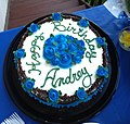 Birthday Cake by 'Valentina's Cakes' in Binghamton, New York.jpg