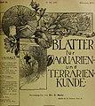 Blätter für Aquarien- und Terrarien-Kunde (1905) (20200836519).jpg