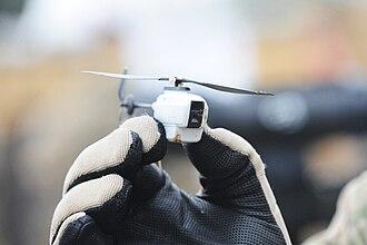 Micro air vehicle - Black Hornet Nano