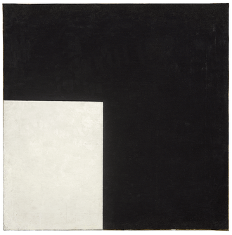 Black Circle - Image: Black and White. Suprematist Composition (Malevich, 1915)