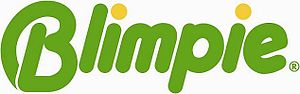 Blimpie - Blimpie's logo from 2005 until 2009.