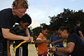 Blue Ridge sailors play games and music with Cambodian children 120501-N-XG305-767.jpg