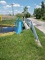Blue bridge over Dinnyés-Kajtori Canal, 2017 Pákozd–Dinnyés.jpg