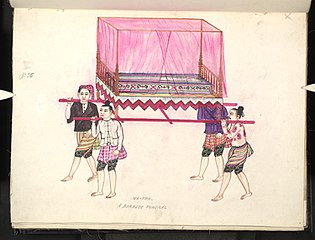 Ma-tha. A Burmese funeral