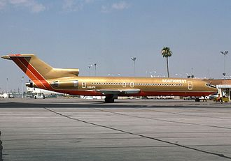 History of Southwest Airlines - Boeing 727-200 at Phoenix Sky Harbor International Airport in 1984