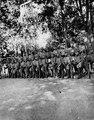 Bolivianska soldater av vilka flertalet äro indianer. Lokal, Matehua, Rio Guaporé, Bolivia - SMVK - 005887.tif