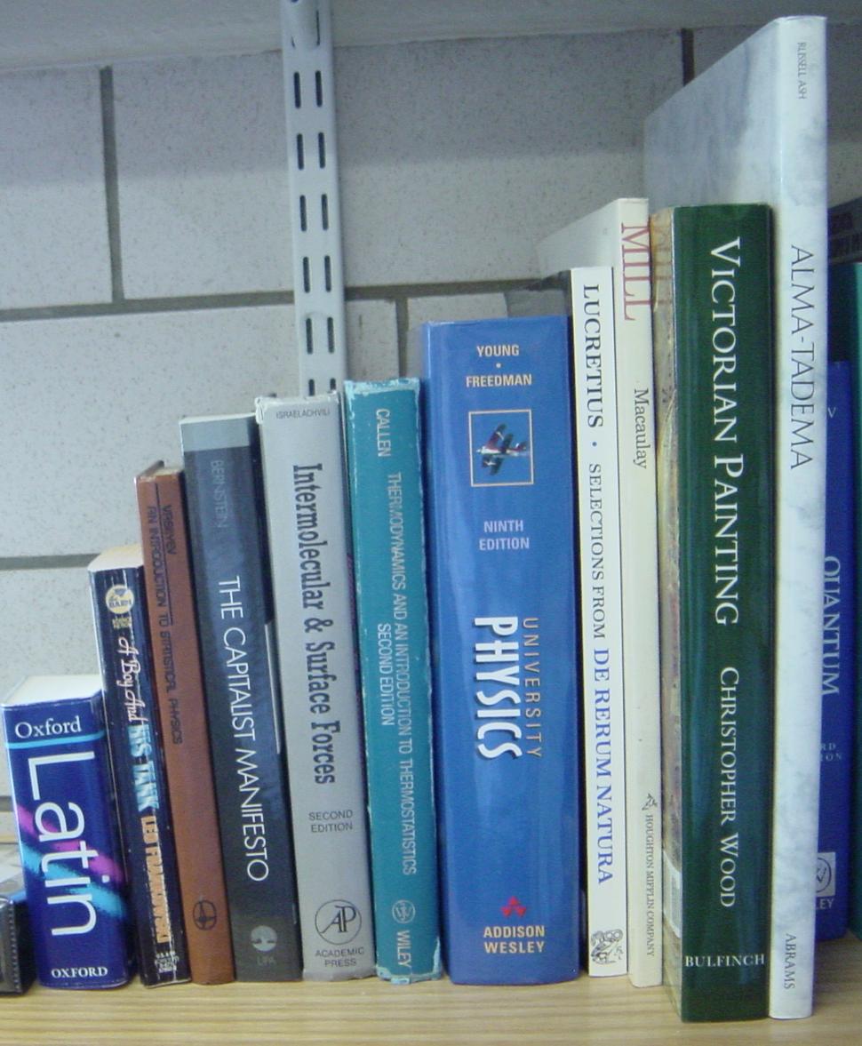 Booksizes