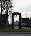 Borken (Westfalen) - Puerta 2010 - Escultura de Manel Marzo-Mart - 01.jpg