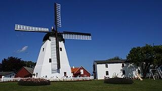 Aarsdale Windmill Danish smock mill