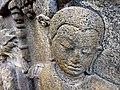 Borobudur - Divyavadana - 077 N, Rudrayana after his Ordination (detail 2) (11706292983).jpg