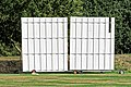 Botany Bay Cricket Club ground sight screen in Botany Bay, Enfield, London 2.jpg