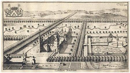 Bouchout Castle Harrewijn 1706