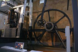 Whitbread Engine - Boulton & Watt steam engine decommissioned in 1887, at the Powerhouse Museum