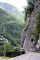 Bovec, canyon nearby the fortress Kluže.jpg
